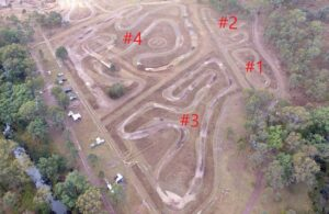 motorbike tracks, dirt bike track